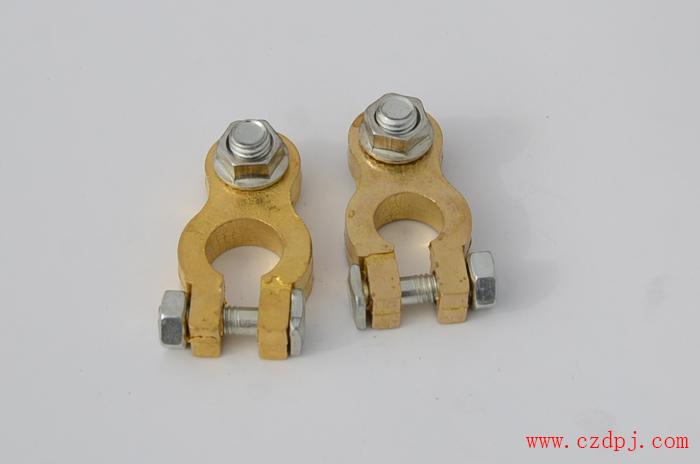 线尾连接纯铜电瓶夹
