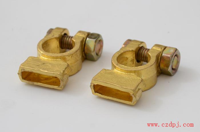 线带式纯铜电瓶夹