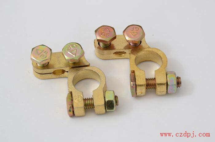 锌合金夹线式电瓶夹