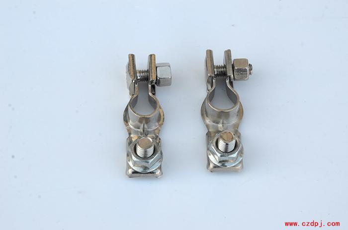 黄铜冲压电瓶夹-003