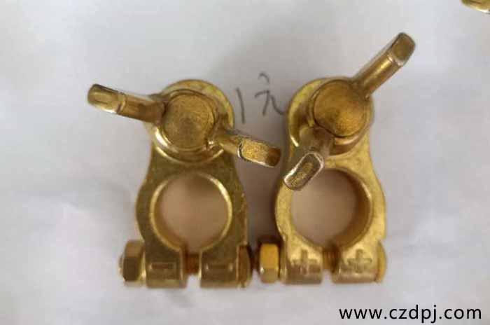 锻造纯铜电瓶夹